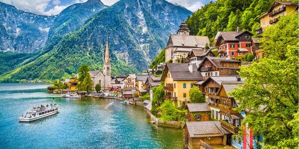 Hallstatt – nádherné leto v rakúskych Alpách