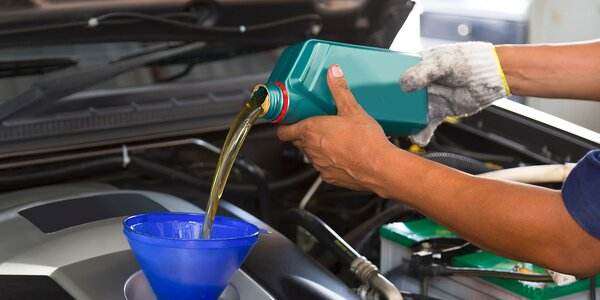 Výmena oleja alebo filtrov v servise Autoclinic