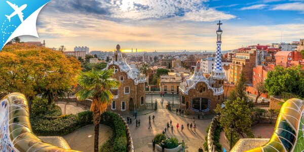Letecký zájazd do Barcelony: obojsmerná letenka, ubytovanie aj strava