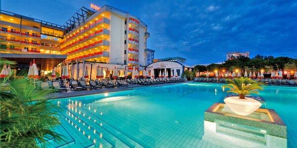 Dovolenka v Bibione: polpenzia, bazény a wellness