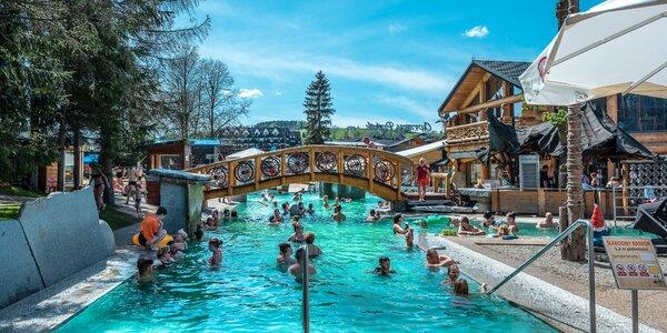 Goralská dovolenka so vstupmi na termálne kúpalisko Gorący Potok