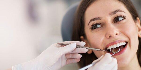 Efektívne bielenie zubov + dentálna hygiena