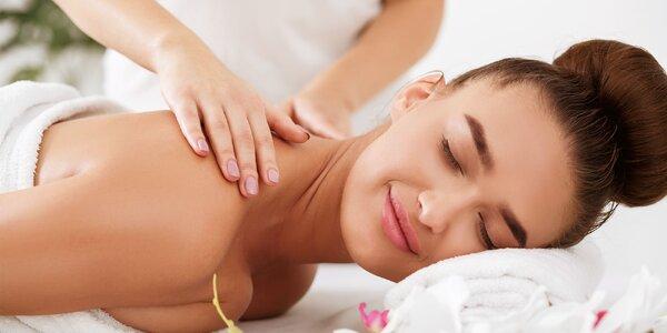 Klasická alebo peelingová masáž vybranej časti tela