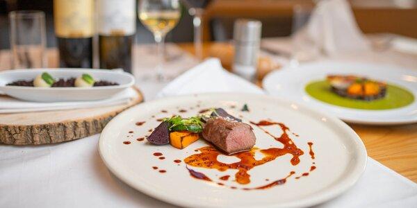 Bohaté degustačné menu alebo 50 € voucher