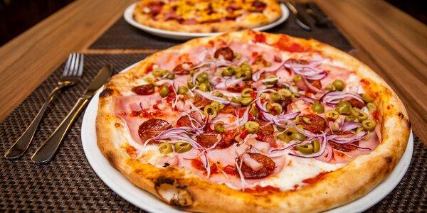 Burger menu alebo pizza podľa vlastného výberu