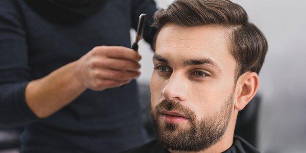 Perfektný pánsky strih aj s úpravou brady