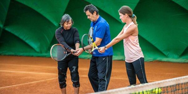 Tenisové kurzy pre všetkých v srdci Bratislavy