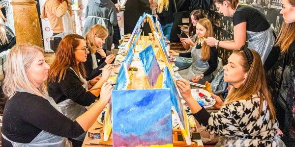 Zážitkové maľovanie v meste PaintPeople