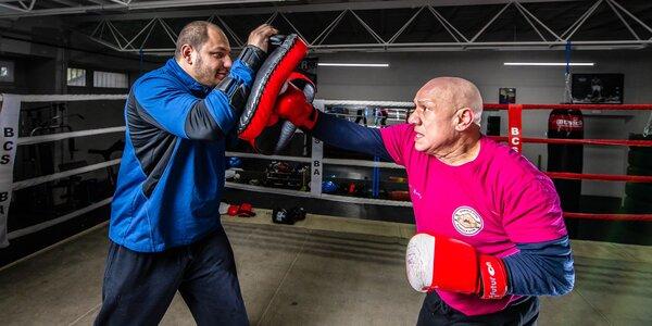 Tréning boxu alebo tabata s profesionálnymi trénermi