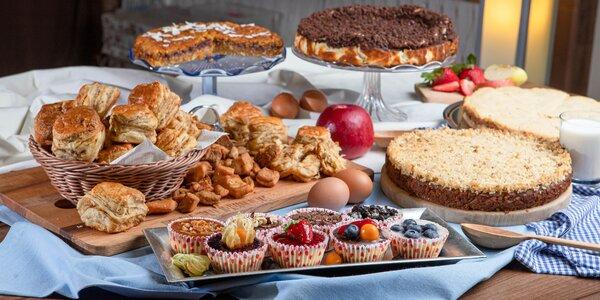 Domáce torty, mini cheesecakes a pagáče do 24 hodín!