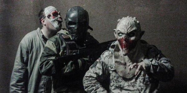 """Nočná úniková hra """"Zombie night"""" s laser tag!"""