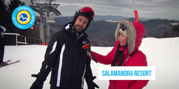 Kam na lyžovačku? Navštívte so Zľavomatovou políciou lyžiarske stredisko SALAMANDRA RESORT!