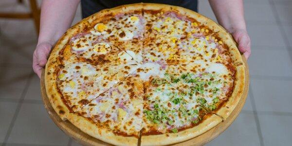 Mega veľká pizza s priemerom až 50 cm!