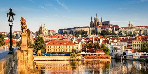 Pobyt v stovežatej Prahe: bohaté raňajky a poukaz na večeru