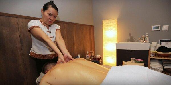 Thajské masáže podľa výberu