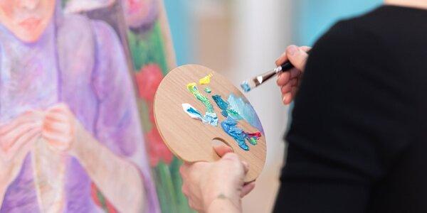 """Zážitkový vstup na výtvarný kurz """"Kresba a maľba"""""""