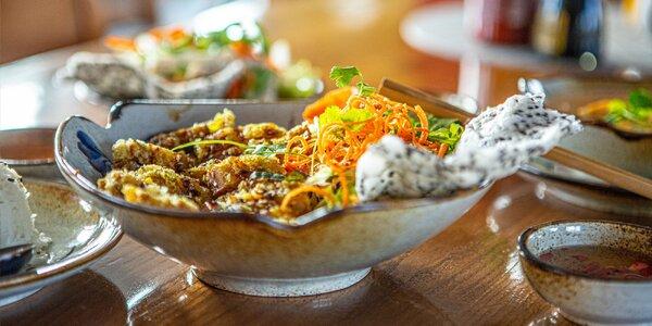 3-chodové menu v novej vietnamskej reštaurácii Bamboo