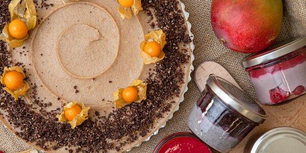 Zdravé maškrtenie: RAW torty a krémy