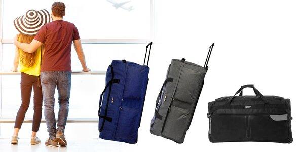 Nepremokavé cestovné tašky na kolieskach: 6 verzií