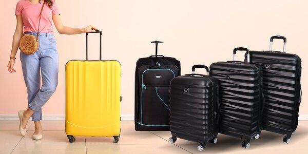Cestovné kufre: samostatne aj v sade 3 kusov