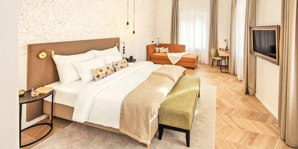 Romantika v krásnom hoteli v srdci Českého Krumlova