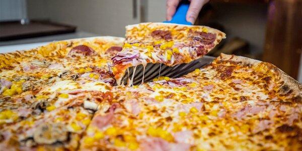 3 kúsky či rovno celá pizza z pece v OC Mirage