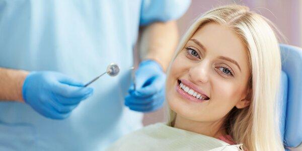 Bielenie zubov a regenerácia ďasien