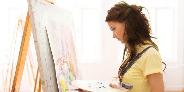 Kurz intuitívneho maľovania Form and Flow - 5 elementov