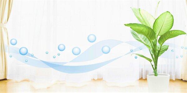 Dezinfekcia domácnosti alebo klimatizácie vozidla ozónom