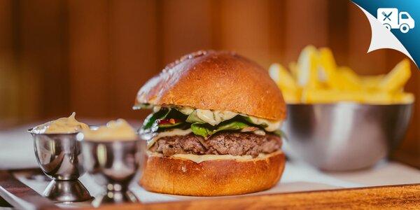 Super burger menu plus ďalší burger na donášku!