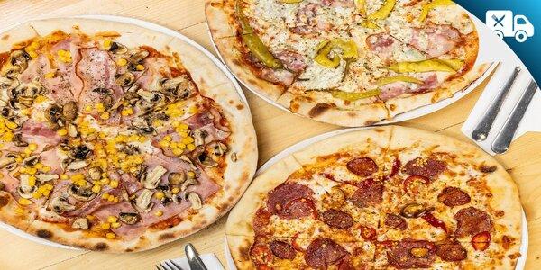 Pizza na donášku alebo osobný odber - na výber až 10 druhov!