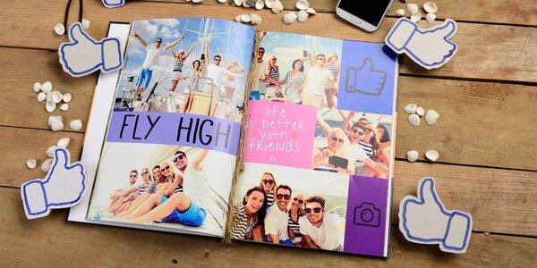 Vždy ostré spomienky vďaka fotoknihe s pevnou väzbou A4, A3 alebo 20x20 cm