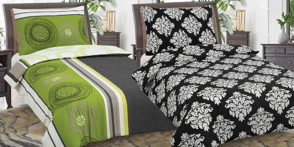 Flanelové posteľné prádlo v 12 vzoroch