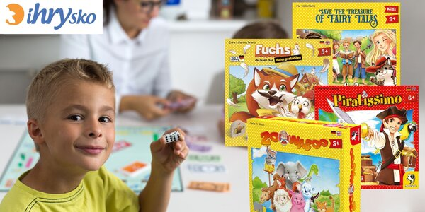 Zábavné spoločenské hry pre všetky deti