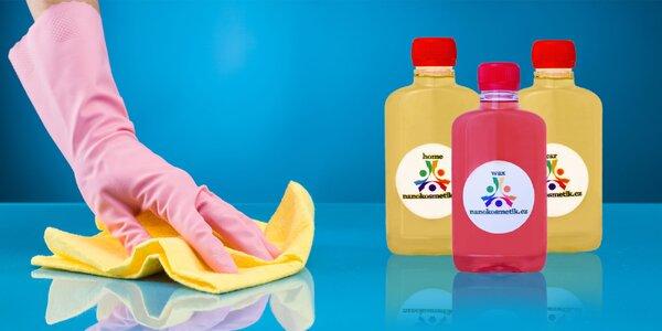 Udržte svoju domácnosť dlhšie čistú - nanokozmetika pre domácnosť i do auta