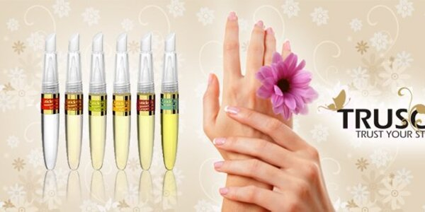 4,25 eura za 2 kusy olejových pier pre krásne a zdravé nechty