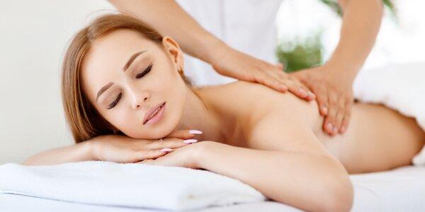 Klasická alebo relaxačná masáž či celotelový peeling