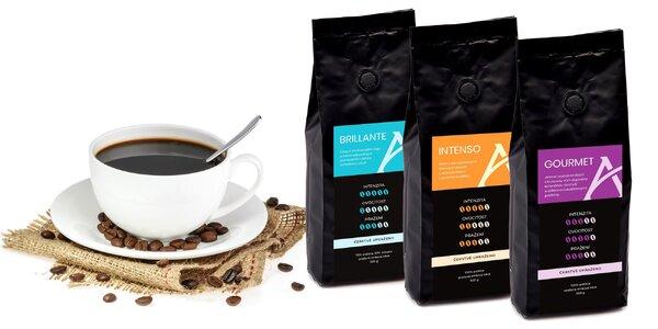 250 g balenie mletej i zrnkovej kávovej zmesi Alesio