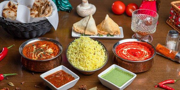 Indické 3-chodové menu na osobný odber v Punjabi Dhaba Prievozská