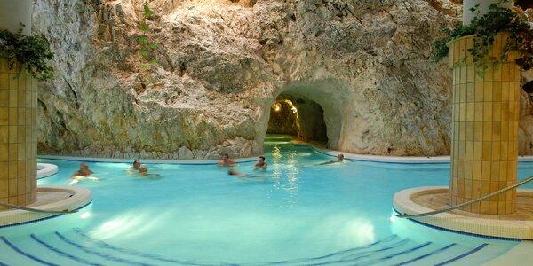 Romantický wellness pobyt hneď vedľa jaskynných kúpeľov