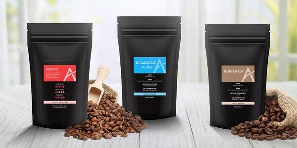 Degustačné balenia kávy Alesio