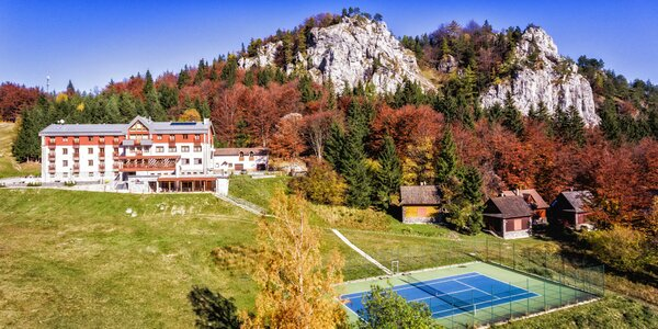 Horský Hotel Malina*** v krásnom prostredí Veľkej Fatry s wellness a športami
