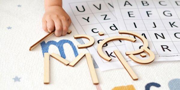 Montessori pomôcky pre predškolákov a prvákov