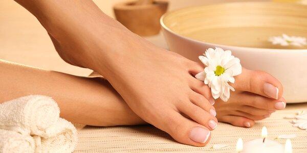 Wellness či kombinovaná pedikúra pre blaho nôh