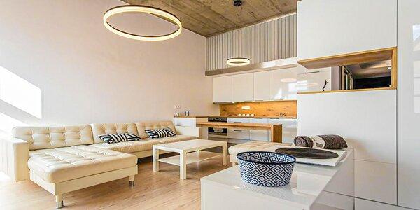 Ubytovanie v priestranných apartmánoch v centre Košíc