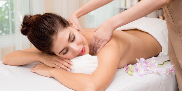 Blahodarná masáž chrbta či výhodná permanentka