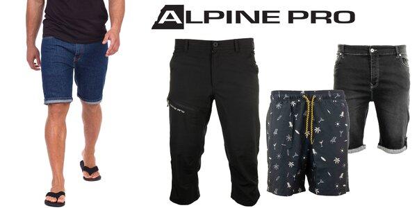 Pánské nohavice a šortky Alpine Pro