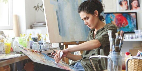 Sady pre pohodlné maľovanie na textil i plátno