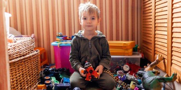 """Montessori lektorka: """"Veľa hračiek vytvára neporiadok v izbičke aj v hlavičke."""""""