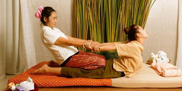 Thajská masáž celého tela podľa výberu